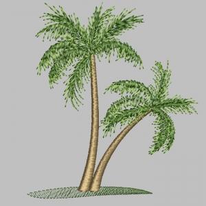 пальмы - дизайн машинной вышивки интернет-магазин дизайнов машинной вышивки Ната Белошвейка