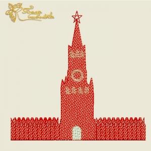 """дизайн машинной вышивки """"кремль"""" интернет-магазин дизайнов машинной вышивки Ната Белошвейка"""