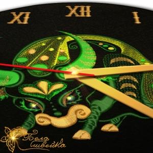 """""""телец - знак зодиака"""" дизайн машинной вышивки интернет-магазин дизайнов машинной вышивки Ната Белошвейка"""