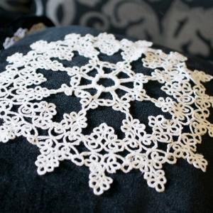 салфетка фриволите - дизайн вышивки интернет-магазин дизайнов машинной вышивки Ната Белошвейка