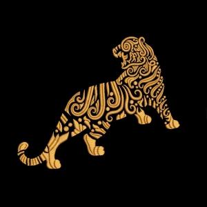 дизайн для машинной вышивки «тигр» интернет-магазин дизайнов машинной вышивки Iren Main