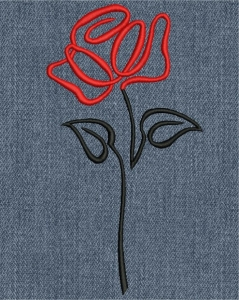"""""""роза"""" машинная вышивка, бесплатный дизайн интернет-магазин дизайнов машинной вышивки Iren Main"""