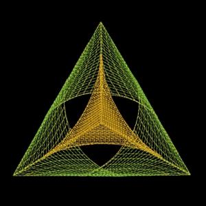 """геометрический орнамент """"3d треугольник"""" интернет-магазин дизайнов машинной вышивки Ната Белошвейка"""