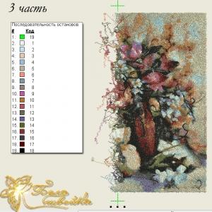 """дизайн-фотостежок """"цветы"""" интернет-магазин дизайнов машинной вышивки Ната Белошвейка"""