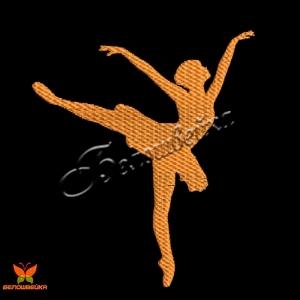 """""""балерина"""" бесплатный дизайн машинной вышивки интернет-магазин дизайнов машинной вышивки Ната Белошвейка"""