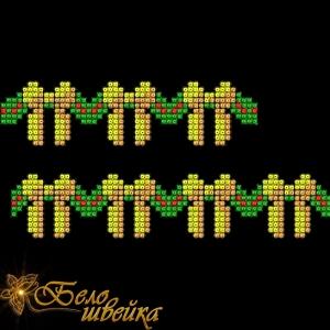 """орнамент """"новогодний"""" в технике машинного креста интернет-магазин дизайнов машинной вышивки Мария Казачок"""