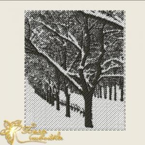 """фотостежок  """"зима"""" интернет-магазин дизайнов машинной вышивки Ната Белошвейка"""
