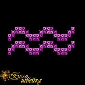 """знак зодиака """"водолей"""" дизайн машинного креста интернет-магазин дизайнов машинной вышивки Ната Белошвейка"""