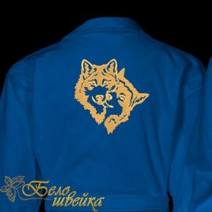 """""""влюбленные волки"""" дизайн машинной вышивки интернет-магазин дизайнов машинной вышивки Ната Белошвейка"""