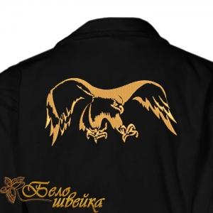 """""""орел"""" одноцветный дизайн машинной вышивки интернет-магазин дизайнов машинной вышивки Ната Белошвейка"""