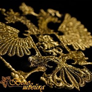 """""""герб золотой"""" дизайн без протяжек! интернет-магазин дизайнов машинной вышивки Ната Белошвейка"""