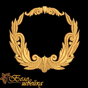 """""""лавры"""" дизайн машинной вышивки интернет-магазин дизайнов машинной вышивки Ната Белошвейка"""