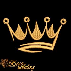 """компьютерная вышивка дизайн для вышивания """"корона"""" интернет-магазин дизайнов машинной вышивки Ната Белошвейка"""
