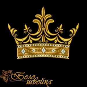 """""""корона"""" дизайн компьютерной вышивки скачать интернет-магазин дизайнов машинной вышивки Ната Белошвейка"""