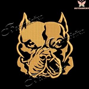 """""""собака"""" файл для вышивания интернет-магазин дизайнов машинной вышивки Ната Белошвейка"""