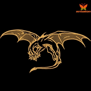 """""""дракон"""" дизайн машинной вышивки интернет-магазин дизайнов машинной вышивки Ната Белошвейка"""