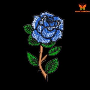 """""""роза"""" дизайн машинной вышивки интернет-магазин дизайнов машинной вышивки Ната Белошвейка"""