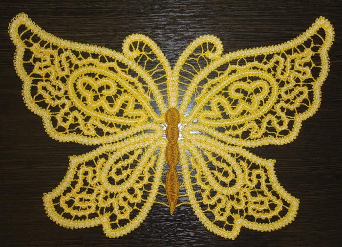 Дизайн для вышивки бабочка