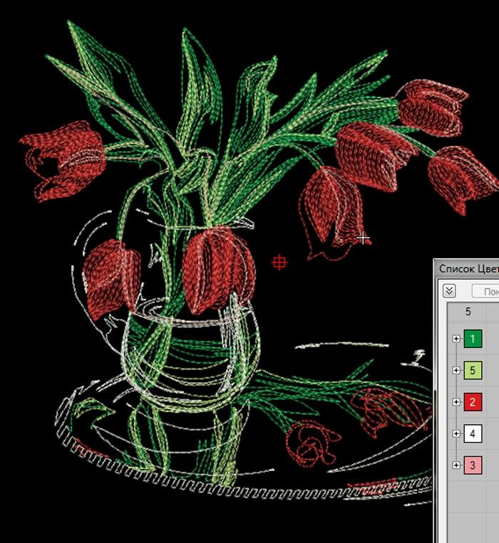 Дизайны машинной вышивки 16