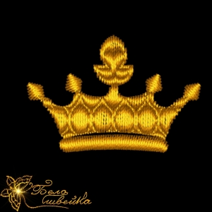 """набор """"короны 4 см"""" дизайны машинной вышивки интернет-магазин дизайнов машинной вышивки Ната Белошвейка"""