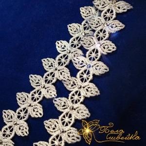 """""""кружевной браслет"""" дизайн fsl интернет-магазин дизайнов машинной вышивки Ната Белошвейка"""