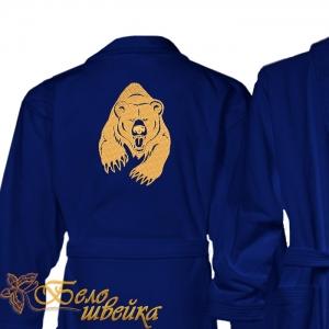 """""""медведь"""" дизайн для вышивания интернет-магазин дизайнов машинной вышивки Ната Белошвейка"""