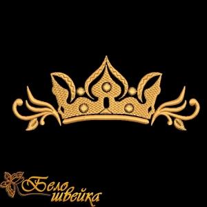 """""""корона"""" компьютерная вышивка интернет-магазин дизайнов машинной вышивки Ната Белошвейка"""