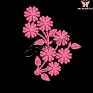 """""""цветочный орнамент"""" дизайн машинной вышивки для маленьких пялец интернет-магазин дизайнов машинной вышивки Ната Белошвейка"""