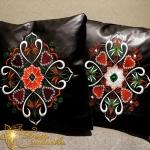 Набор из 2-ух орнаментов для парных подушек