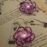 серьги-фриволите интернет-магазин дизайнов машинной вышивки Ната Белошвейка