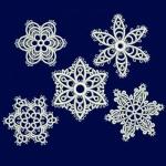 5 дизайнов снежинок