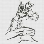 """""""медный всадник"""" интернет-магазин дизайнов машинной вышивки Ната Белошвейка"""