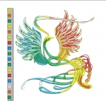 """""""жар-птица"""" - файл для вышивания интернет-магазин дизайнов машинной вышивки Ната Белошвейка"""