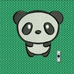 Бэби панда - дизайн для машинной вышивки