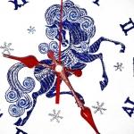 Сказочная лошадка - дизайн вышивки