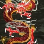 """дизайн машинной вышивки """"дракон"""" интернет-магазин дизайнов машинной вышивки Ната Белошвейка"""