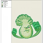 "дизайн машинной вышивки ""plants vs zombies - 01"" интернет-магазин дизайнов машинной вышивки Ната Белошвейка"