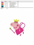 дизайн для машинной вышивки «свинка пеппа» интернет-магазин дизайнов машинной вышивки Iren Main