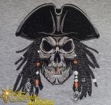 Дизайн для машинной вышивки «Старый пират»