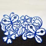 Дизайн для машинной вышивки «Цветочный бордюр»
