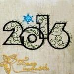 Дизайн новогодний для вышивальной машины 2016 год