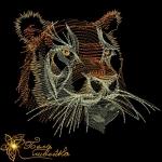 """Тигр"" дизайн для трикотажа"