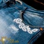 FSL кружево на джинсы