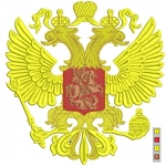 """Дизайн для вышивки """"Герб России"""""""