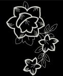 Цветы - файл машинной вышивки