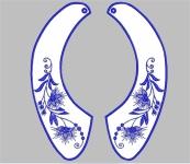 Дизайн для машинной вышивки «Воротник»