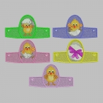 Дизайны подставок под пасхальные яйца «Пасхальные цыплята»