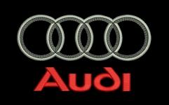 Audi - логотип авто для машинной вышивки