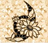 Ришелье - машинная вышивка «Цветок»