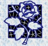 """Роза"" - файл для вышивания"